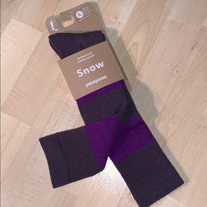 PATAGONIA MERINO WOOL Mid-Heavy Knee Snow Socks